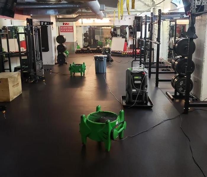 A photo of a gym
